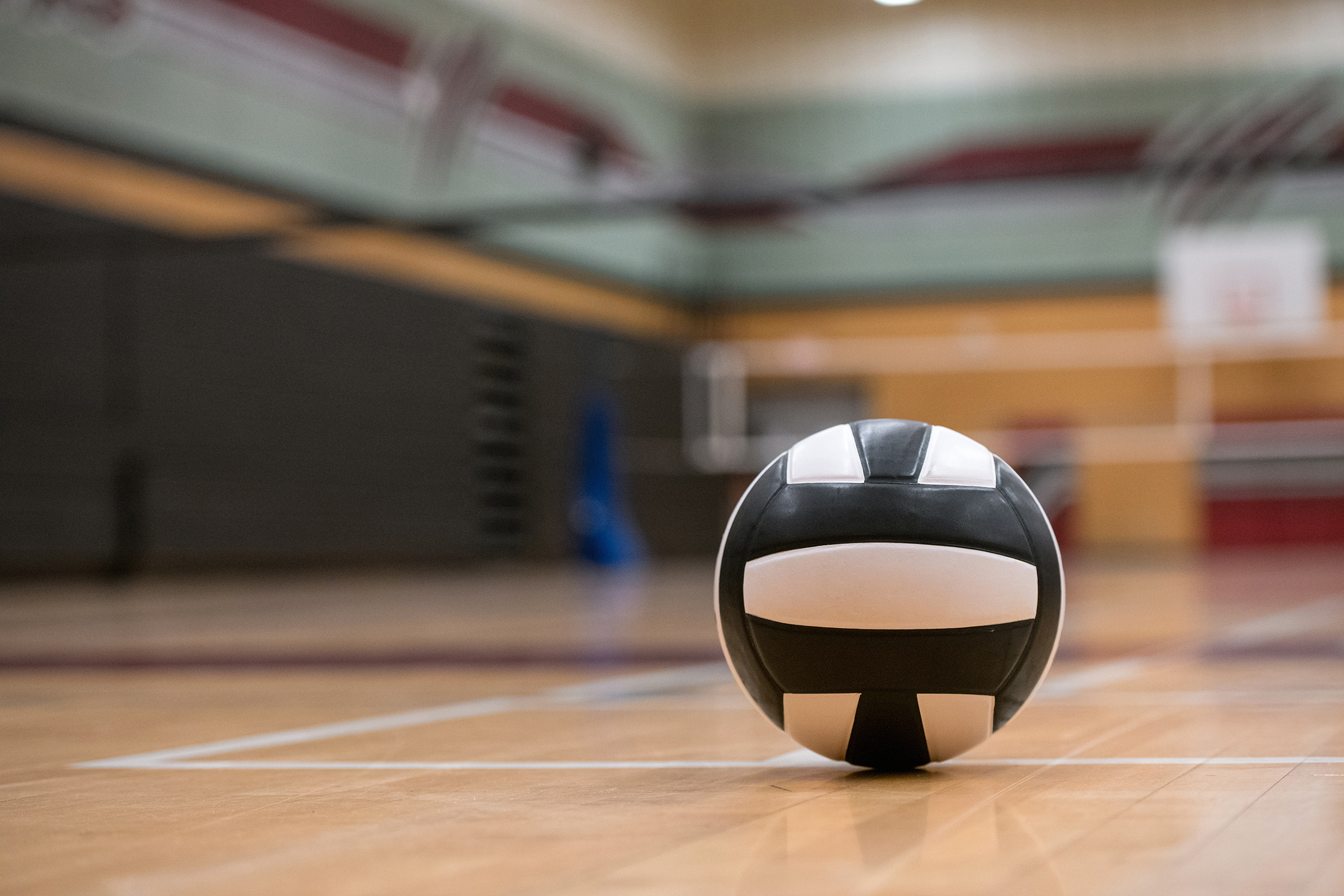 Volleyball Background Indoors